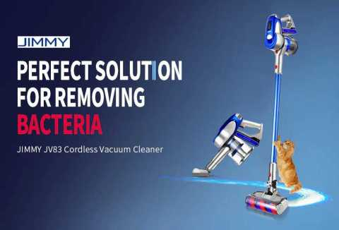jimmy jv83 wireless vacuum cleaner