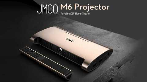 JMGO M6 Portable DLP Projector - JMGO M6 DLP Projector Banggood Coupon Promo Code [AE Warehouse]