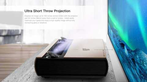 JMGO SA projector - JMGO SA Ultra Short Throw 2500 ANSI Lumens Laser Projector Gearbest Coupon Promo Code
