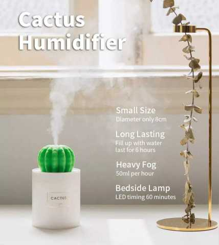 xiaomi sothing 306b 280ml cactus humidifier