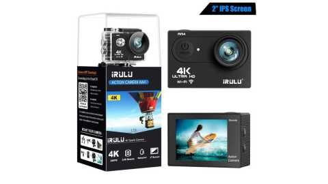 iRULU Action Camera 4K - iRULU Action Camera 4K Amazon Coupon Promo Code