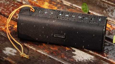 BlitzWolf BW WA2 speaker 1 - BlitzWolf BW-WA2 20W Wireless Bluetooth Speaker Banggood Coupon Promo Code [UK Warehouse]