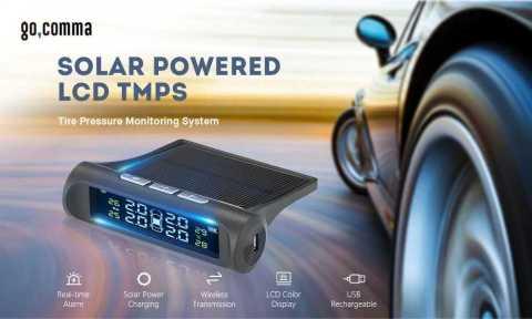 Gocomma Solar Powered LCD Tire Pressure Monitoring System - Gocomma Solar Powered LCD Tire Pressure Monitoring System Gearbest Coupon Promo Code
