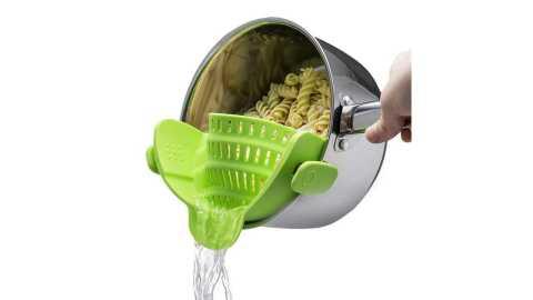 Kitchen Gizmo Snap N Strain Strainer - Kitchen Gizmo Snap 'N Strain Strainer Amazon Coupon Promo Code