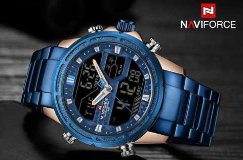 NAVIFORCE 9138S - NAVIFORCE 9138S Dual Digital Watch Banggood Coupon Promo Code