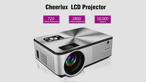 Cheerlux C9 - Cheerlux C9 LCD Projector Banggood Coupon Promo Code