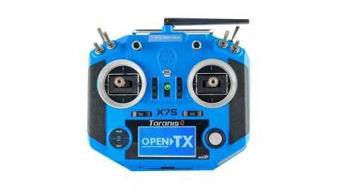 Frsky Taranis Q X7S Transmitter - Frsky 2.4G 16CH ACCST Taranis Q X7S Transmitter Banggood Coupon Promo Code [Blue]