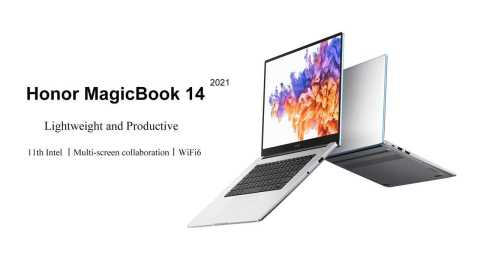 HONOR MagicBook 14 2021 - HONOR MagicBook 14 2021 Edition Banggood Coupon Code [i5-1135G7 MX450 16+512GB SSD]
