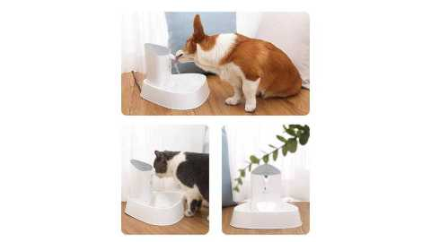 Loskii Automatic Smart Pet Water Dispenser - Loskii Automatic Smart Pet Water Dispenser Banggood Coupon Promo Code