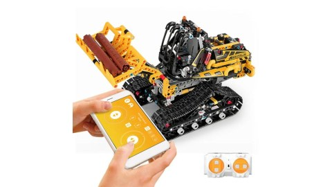 MoFun DIY Block Excavating Machinery - MoFun DIY Block RC Excavating Machinery Banggood Coupon Promo Code [USA Warehouse]