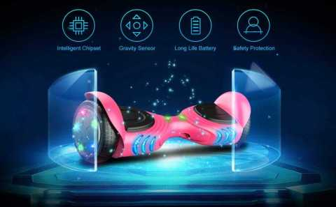 TOMOLOO Hoverboard - TOMOLOO Hoverboard with Bluetooth Speaker Amazon Coupon Promo Code
