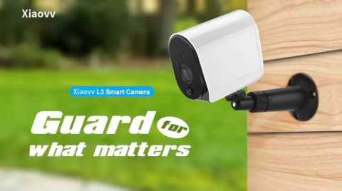 Xiaovv L3 Plus - Xiaovv L3 Plus Smart 1080p Outdoor Camera Banggood Coupon Promo Code [Battery Operated]