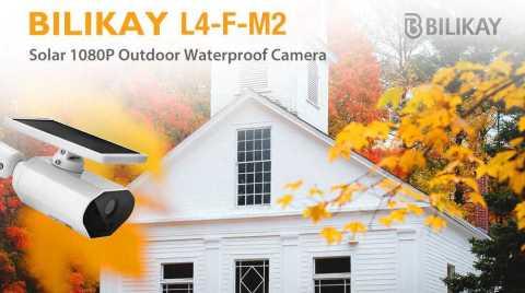 Bilikay L4 – F – M2 Solar Outdoor IP Camera