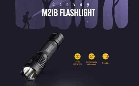 Convoy M21B - Convoy M21B SST40 Flashlight Gearbest Coupon Promo Code