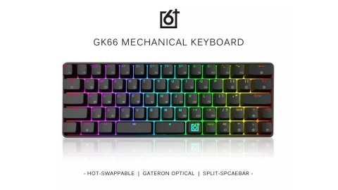 GK66 Split Spacebar - Skyloong GK66 Mechanical Gaming Keyboard Banggood Coupon Promo Code