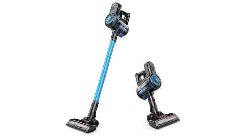 GOOVI Stick Vacuum Cleaner blue - GOOVI Stick Vacuum Cleaner Amazon Coupon Promo Code
