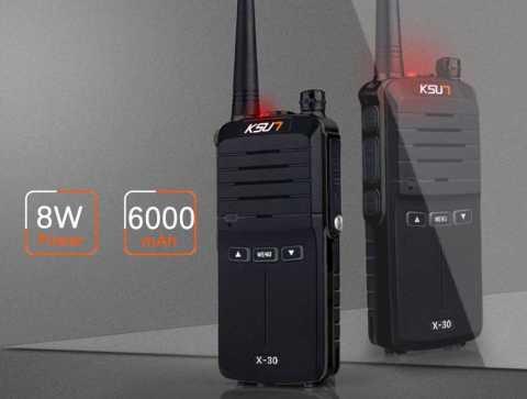 KSUN KSX30 ZS - KSUN KSX30-ZS Handheld Walkie Talkie Gearbest Coupon Promo Code