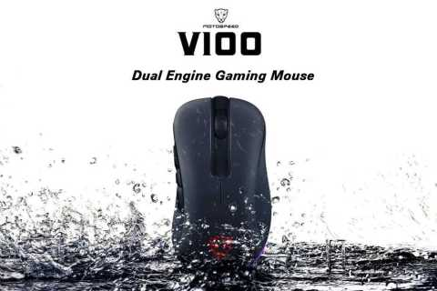 MOTOSPEED V100 - MOTOSPEED V100 Gaming Mouse Gearbest Coupon Promo Code