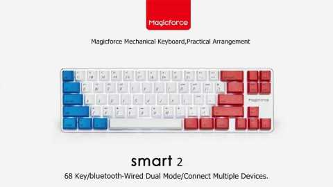 Magicforce Smart 2 Mechanical Gaming Keyboard - Magicforce Smart 2 Mechanical Gaming Keyboard Banggood Coupon Code [Russia Warehouse]