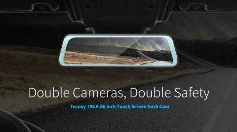 Tecney T98 - Tecney T98 Touch Screen 1080P Dash Cam Car DVR Gearbest Coupon Promo Code