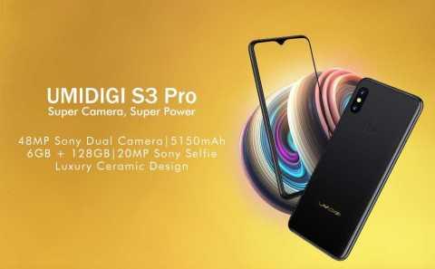 UMIDIGI S3 PRO 1 - UMIDIGI S3 PRO Amazon Coupon Promo Code DEAL [6+128GB]
