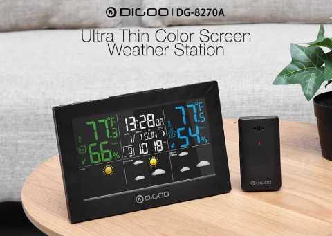 DIGOO DG 8270A - DIGOO DG-8270A Weather Forecast Station Banggood Coupon Promo Code