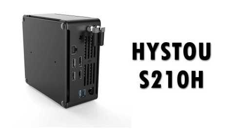 HYSTOU S210H - HYSTOU S210H Mini PC Banggood Coupon Promo Code [i9-9880HK 8+128/256GB]