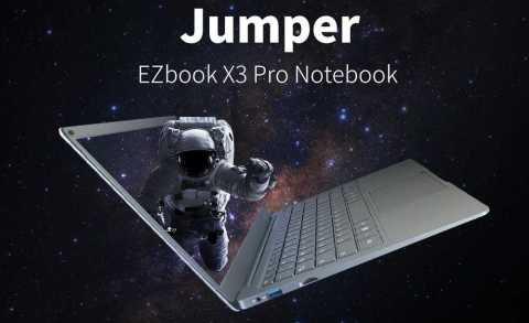 Jumper EZbook X3 Pro - Jumper EZbook X3 Pro 13.3 inch Gearbest Coupon Promo Code [N4100 8+180GB SSD]