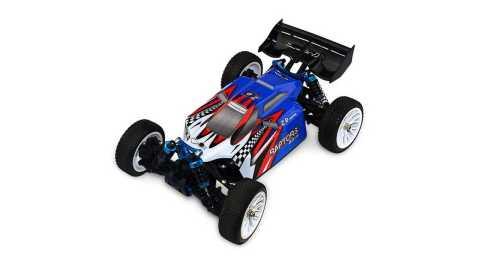 zd racing raptors bx-16 9051 1/16 rc car