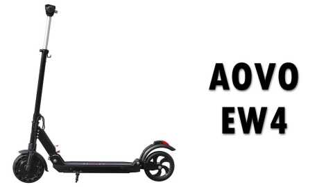 AOVO EW4 - AOVO EW4 Folding Electric Scooter Banggood Coupon Promo Code [UK Warehouse]