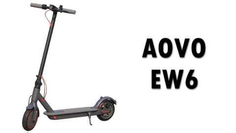 AOVO EW6 - AOVO EW6 Folding Electric Scooter Banggood Coupon Promo Code [USA Warehouse]