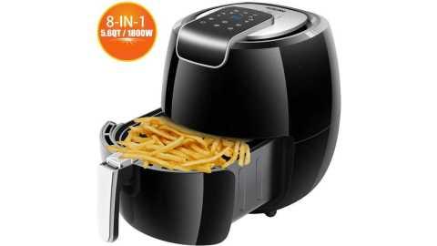 AUKUYEE Air Fryer - AUKUYEE XL Air Fryer 5.6QT Amazon Coupon Promo Code