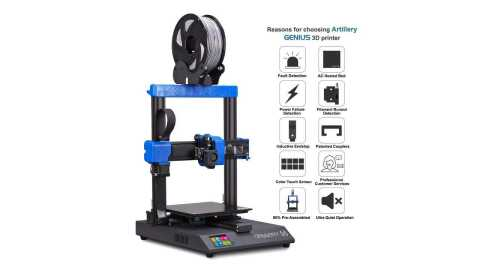 Artillery Genius - Artillery GENIUS 3D Printer Gearbest Coupon Promo Code [Europe Warehouse]
