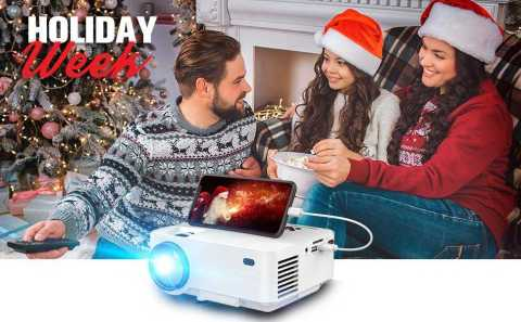 DBPOWER T21 Projector - DBPOWER T21 Projector Amazon Coupon Promo Code