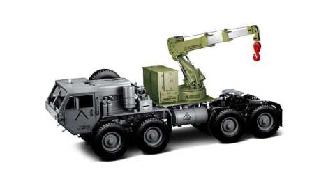 hg p802 1/12 upgraded crane lifting arm