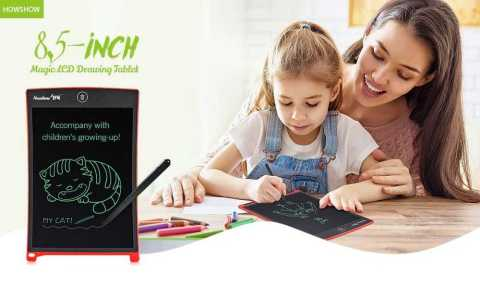 HOWSHOW 8 5 inch LCD Drawing Tablet - HOWSHOW 8.5 inch LCD Drawing Tablet Banggood Coupon Promo Code