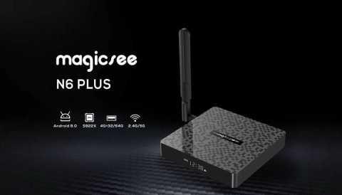 Magicsee N6 Plus - Magicsee N6 Plus Smart TV Box Gearbest Coupon Promo Code [4+64GB]