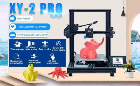 TRONXY XY 2 Pro 3D - TRONXY XY-2 Pro 3D Printer Amazon Coupon Promo Code
