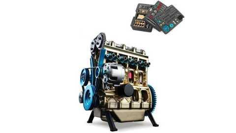 Teching V4 DM13 - Teching V4 DM13 Four-Cylinder Stirling Engine Banggood Coupon Promo Code
