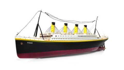 nqd 757 1/325 80cm titanic rc boat