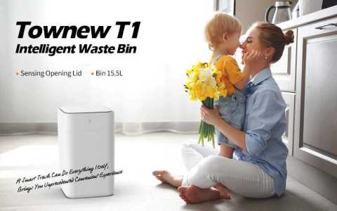 xiaomi townew t1 smart trash can
