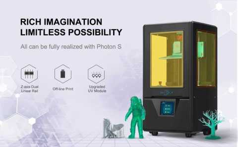ANYCUBIC Photon S - ANYCUBIC Photon S 3D Resin Printer Amazon Coupon Promo Code