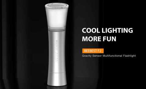 xiaomi beebest f2 gravity sensor flashlight