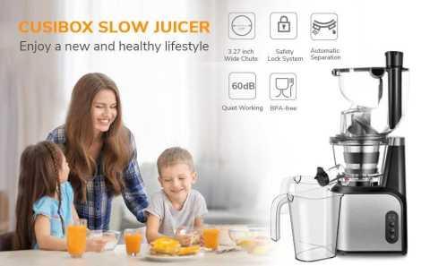 CUSIBOX Slow Masticating Juicer - CUSIBOX Slow Masticating Juicer Amazon Coupon Promo Code