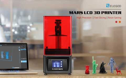 ELEGOO Mars 3d printer - ELEGOO Mars Resin 3D Printer Gearbest Coupon Promo Code