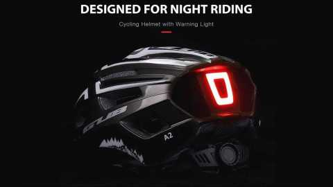 GUB A2 cycling helmet - GUB A2 Cycling Helmet with Warning Light Gearbest Coupon Promo Code