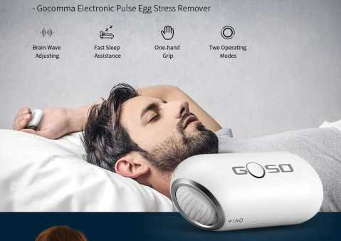 gocomma tns-200 electronic pulse egg stress remover
