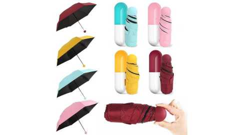 Honana HN KU4 - Honana HN-KU4 Mini Capsule Umbrella Banggood Coupon Promo Code