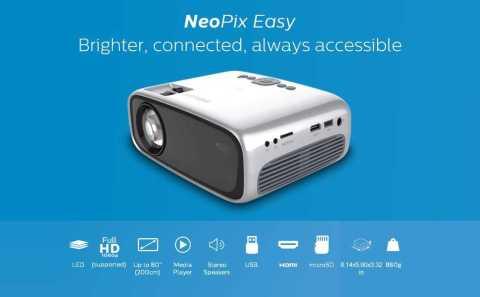 Philips NeoPix Easy - Philips NeoPix Easy (NPX440) Mini Projector Amazon Coupon Promo Code