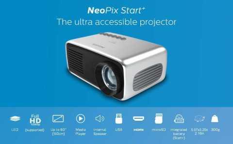 Philips NeoPix Start plus 1 - Philips NeoPix Start+ (NPX245) Mini Projector Amazon Coupon Promo Code